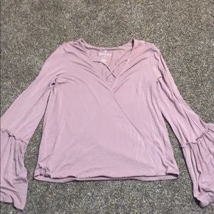 Light Pink American Eagle Blouse